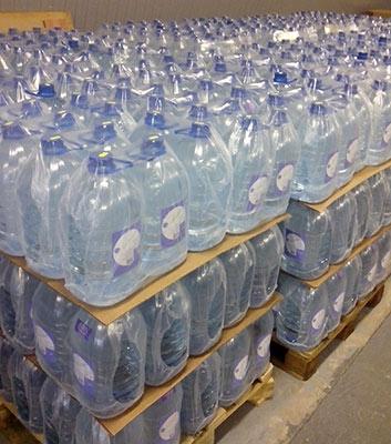 Доставка бутылей с водой